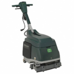 Walk Behind Floor Scrubber, Micro, 2,400 RPM Brush Speed, Cylindrical Deck Style, 1.2 hp